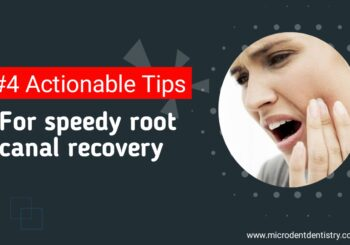 root canal recovery tips